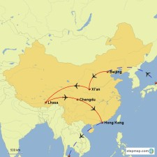 China-Route-Map