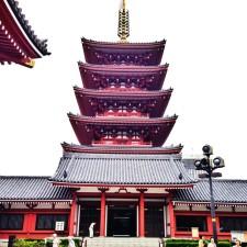 Pagoda at Asakusa