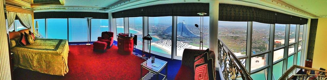 Upper level Panorama